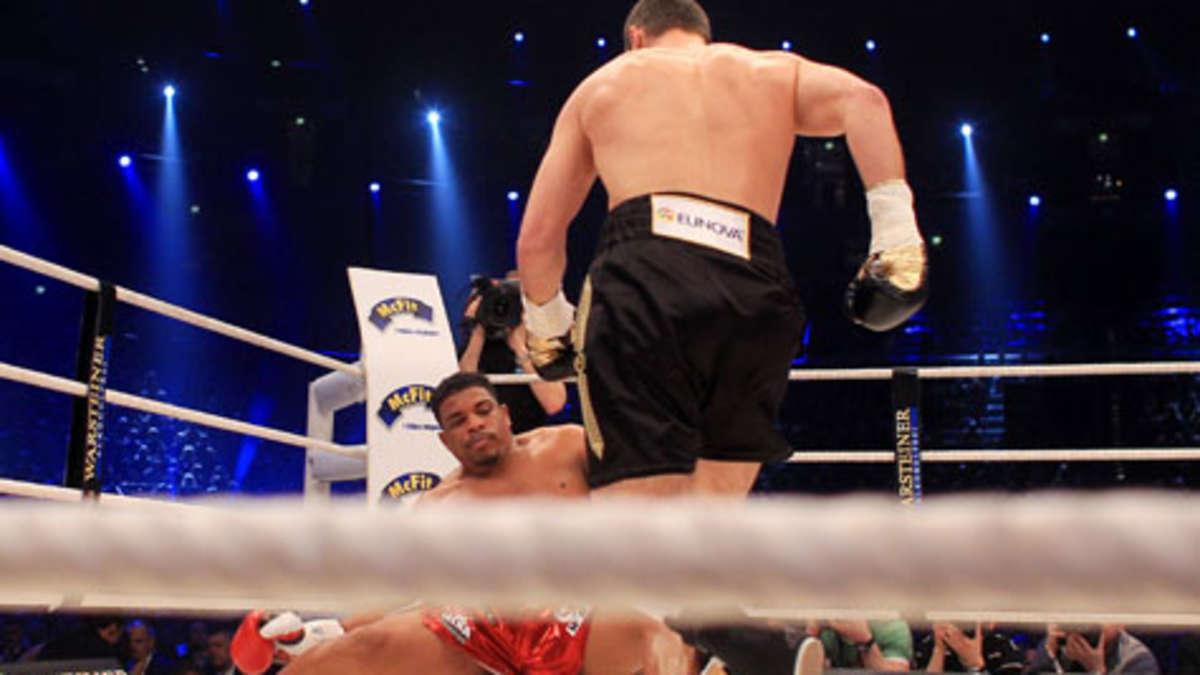 Besiegt Beim Boxen