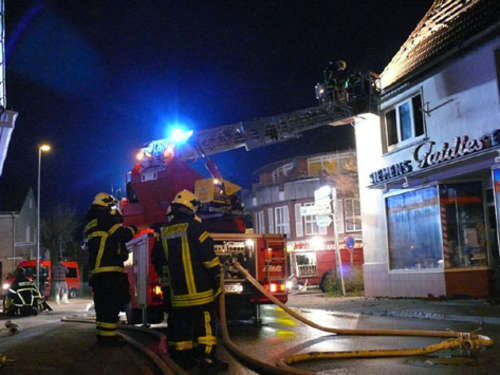 Wohnungsbrand in Oldenburg