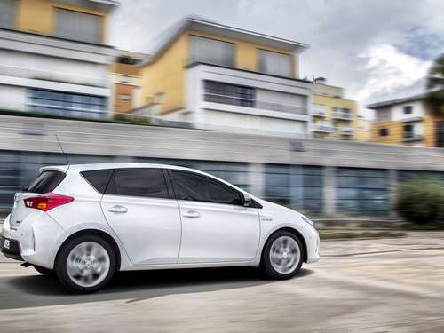 Toyota Auris Sports Hybrid im Test