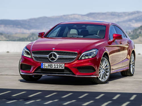 Mercedes CLS Facelift 2014