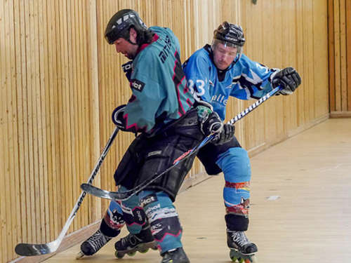 Inlinehockey in Burg