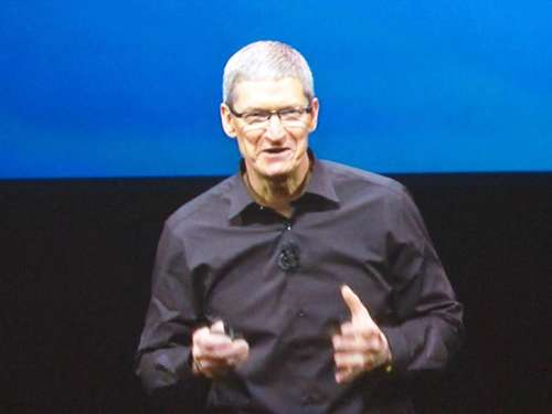 Apple-Chef Tim Cook: