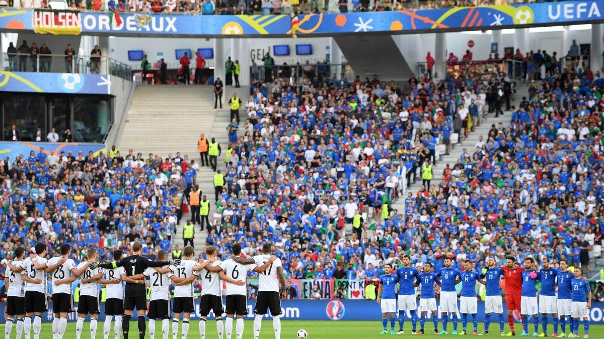 Deutschland Italien Spiel Ergebnis