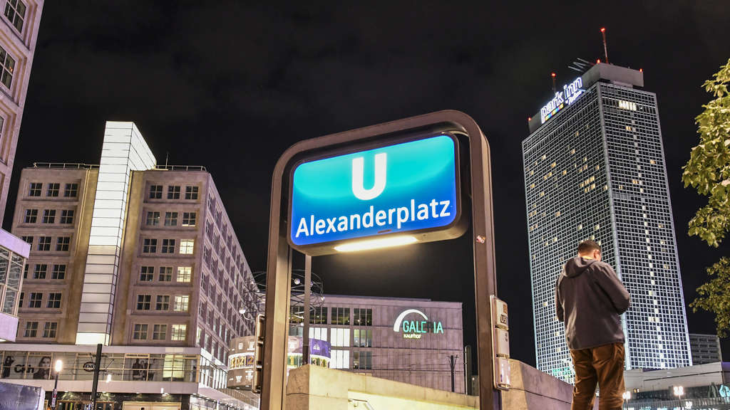 Der Alexanderplatz in Berlin.