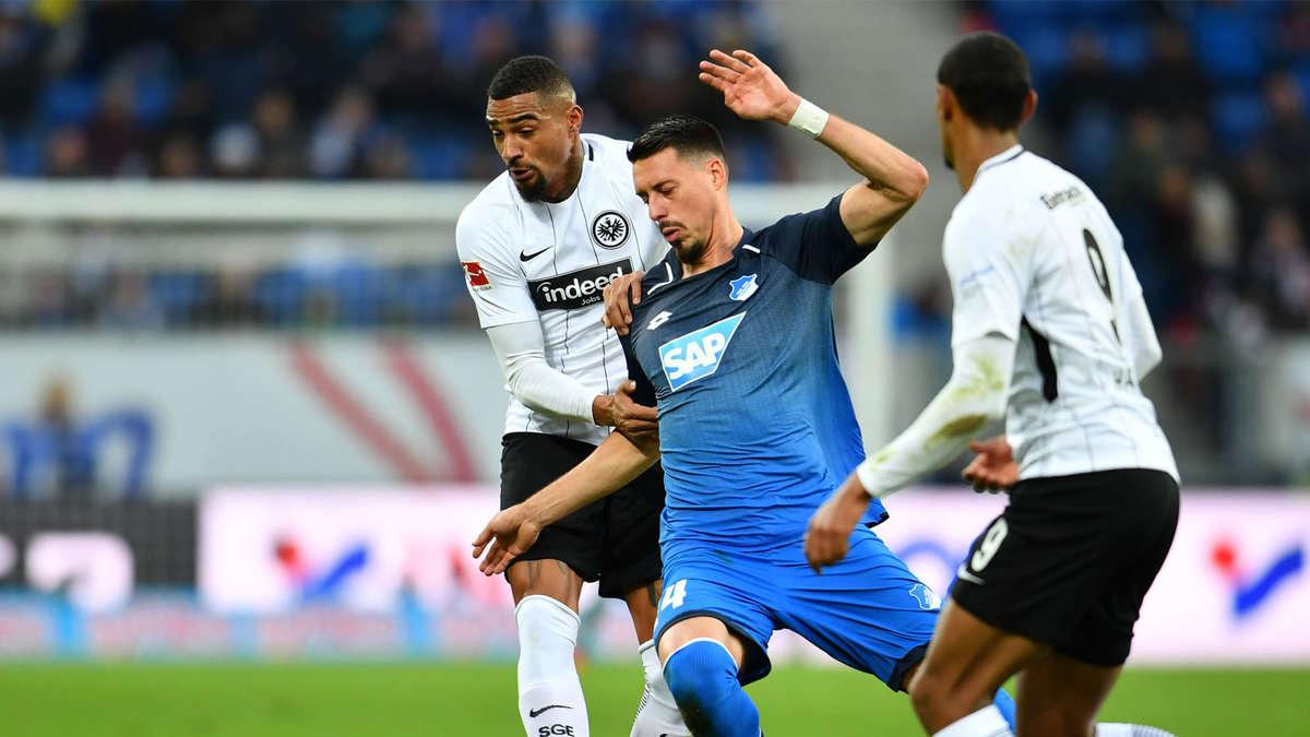 Eintracht frankfurt 1899 hoffenheim bundesliga live im for Bundesliga live