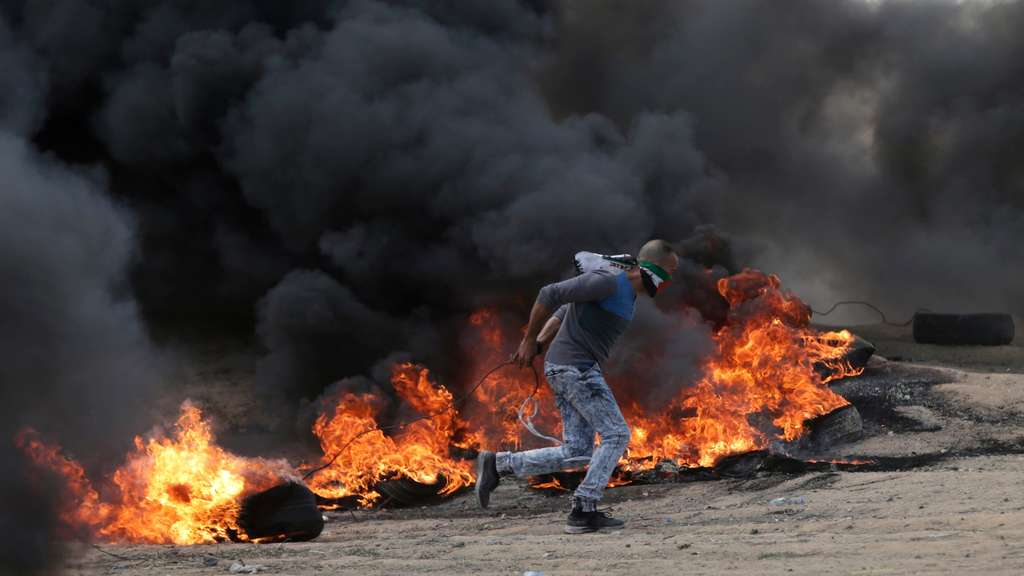 Proteste in Gaza.