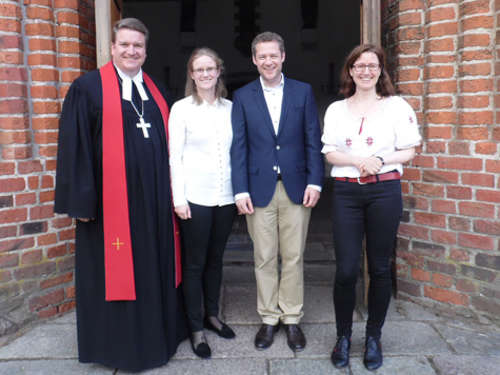 Bettina Axt neue Pastorin in Burg