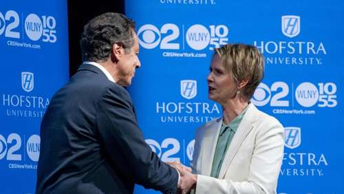 Cynthia Nixon will New York regieren