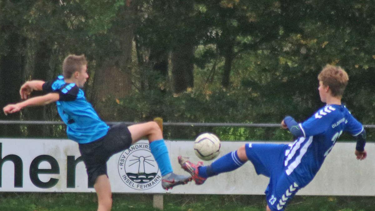 C-Junioren überrollen den OSV | Lokalsport Fehmarn - fehmarn24