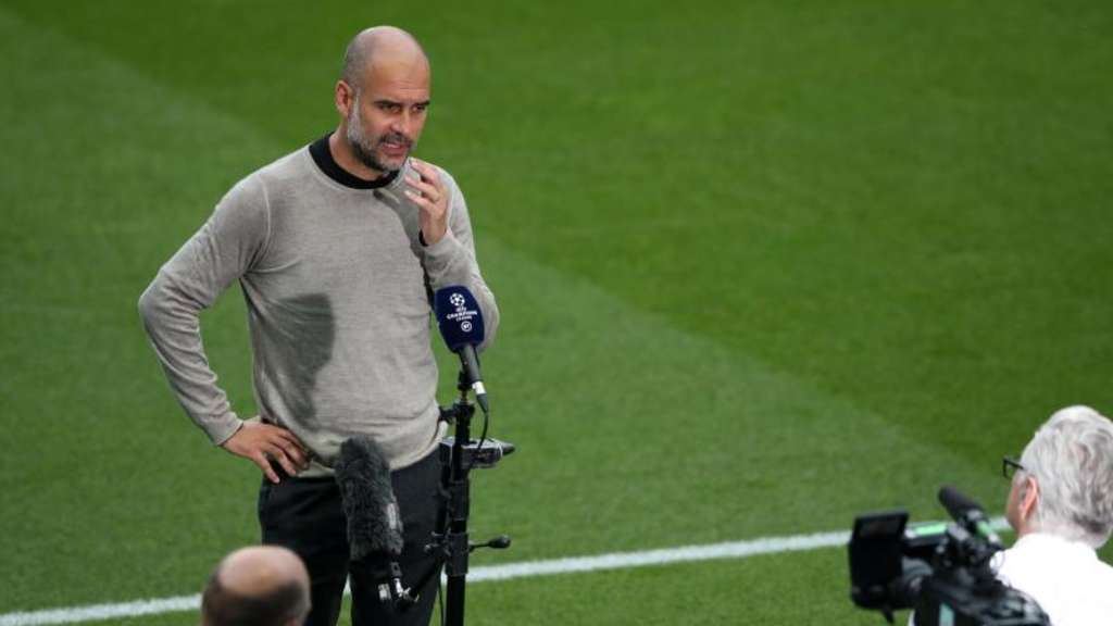 Muss bei Man City endlich auch international liefern: Starcoach Pep Guardiola. Foto: Nick Potts/NMC Pool/PA Wire/dpa