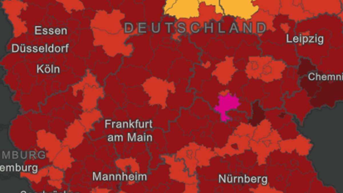 Corona Hotspots Deutschland Karte Aktuell